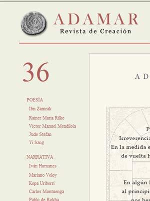 REVISTA ADAMAR número 36