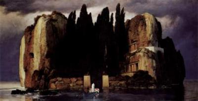 La isla de los muertos. Arnold Böcklin