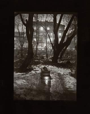 Cementerio de Malá Strana. Josef Sudek
