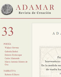 ADAMAR Nº 33