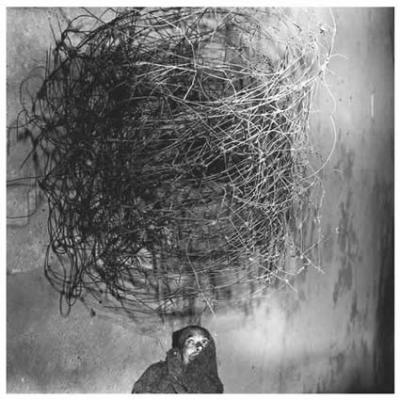 Twirling wires, 2001. Roger Ballen